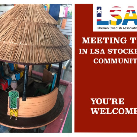 LSA NEXT MONTHLY MEETING!!
