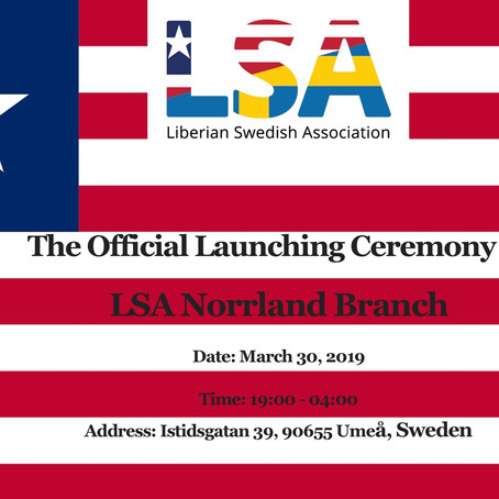 The Official Launching Ceremony of LSA Norrland Chapter