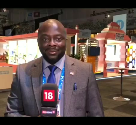 WASH Commissioner Attended the World Water Week 2019 Events in Stockholm and Met LSA Community.