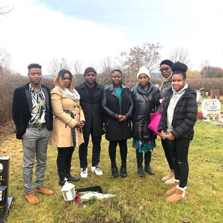LSA visited the Graves of fallen Brothers