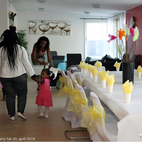 LSA hosted Kids Easter Fun Day Event and met with Liberia Land Authority Delegation to Sweden