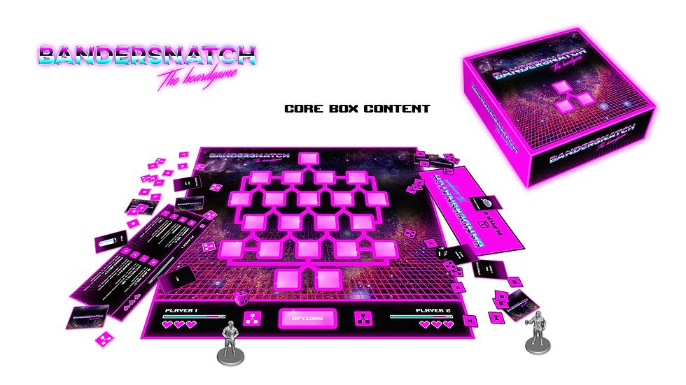 Quantum Arcade Boardgame Design
