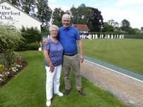 Doug and Joan on tour