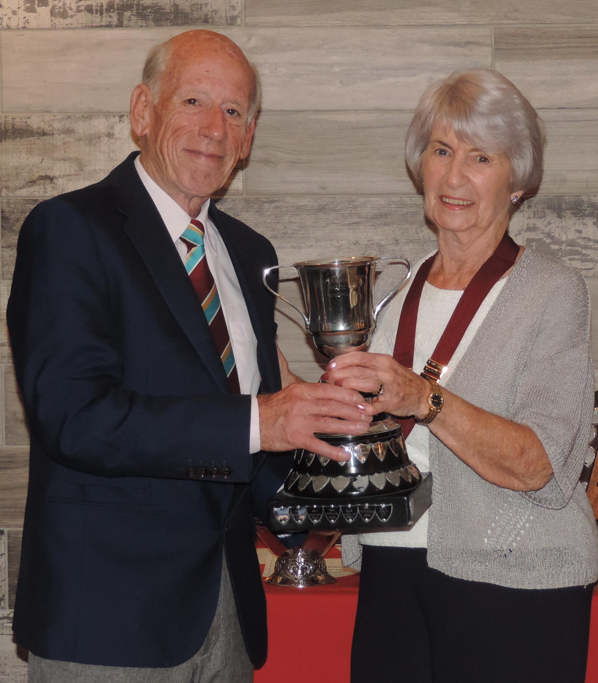 Wade Cup winner - J Ruddock