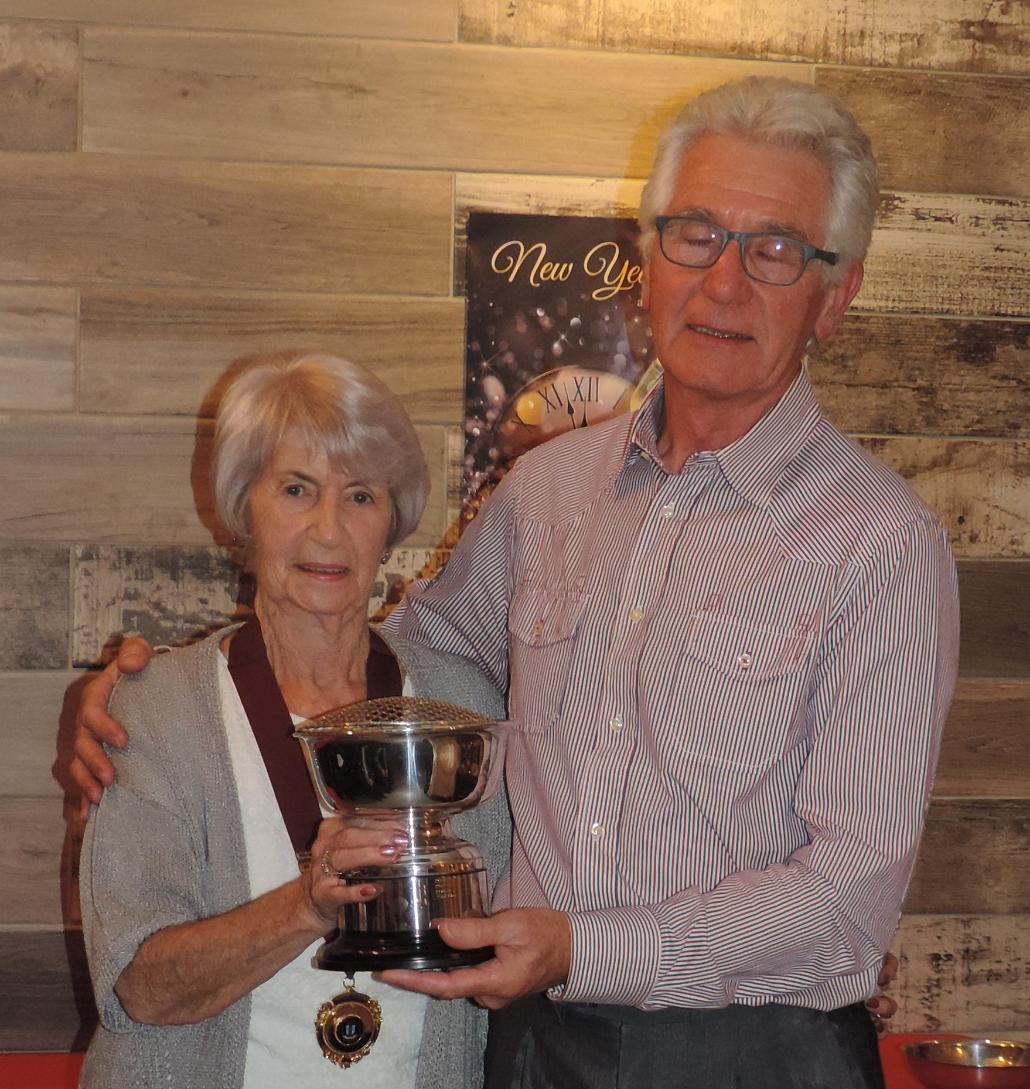 Rose Garden Trophy winner - C Clarke