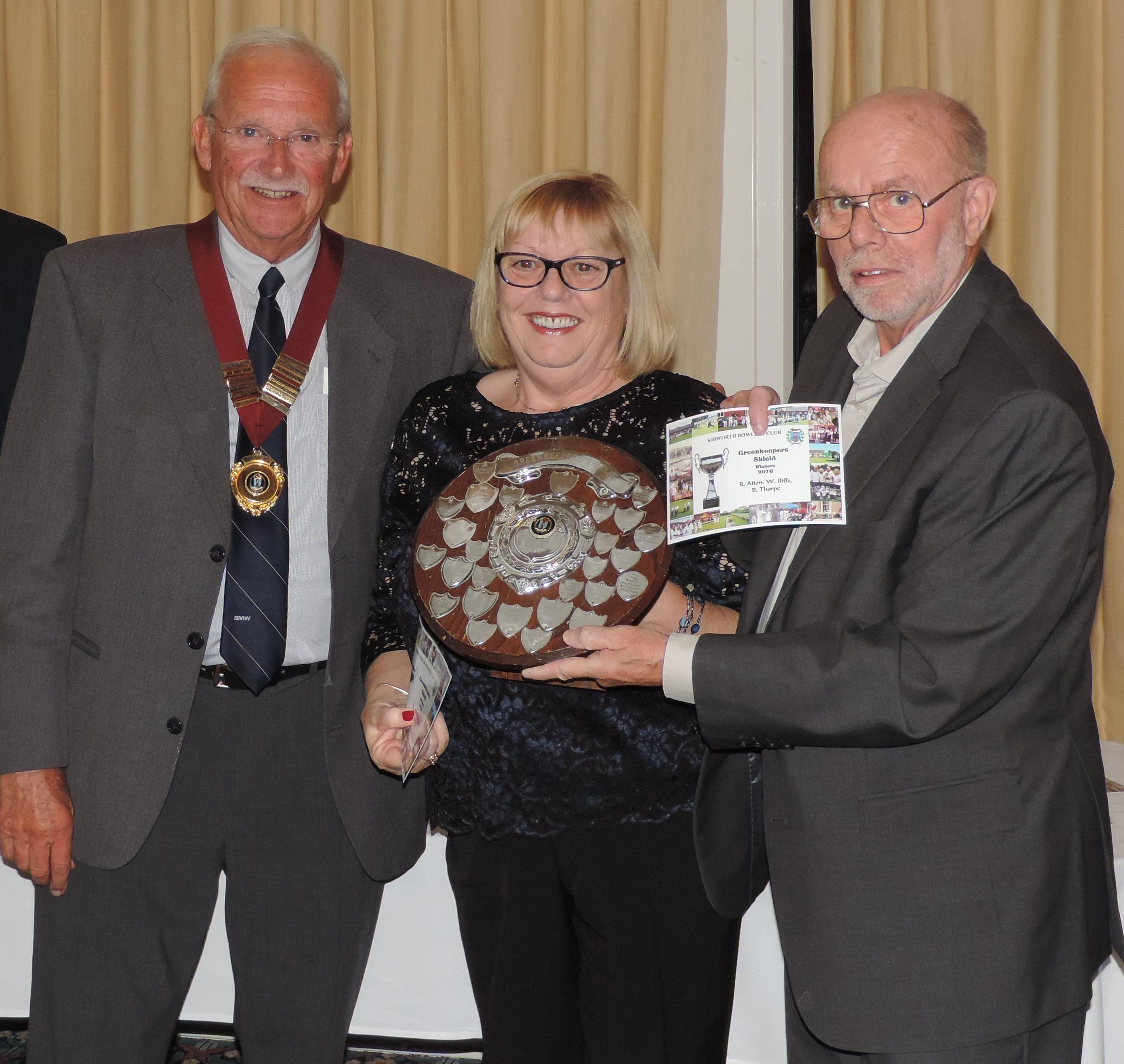 Greenkeepers Shield Winners