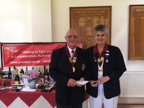 Robert Lodge and Sue Tart