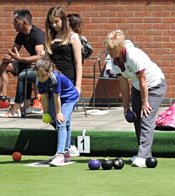 Open Day coaching by Madeline Butler