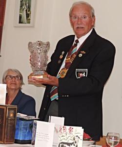 Club Presidents with Wistow Vase