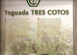 PRE horse book featuring Tres Cotos