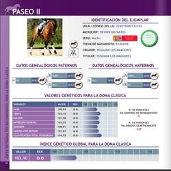Paseo II breed selection book