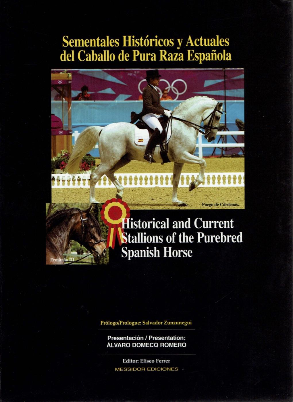Spanish/English PRE horse book