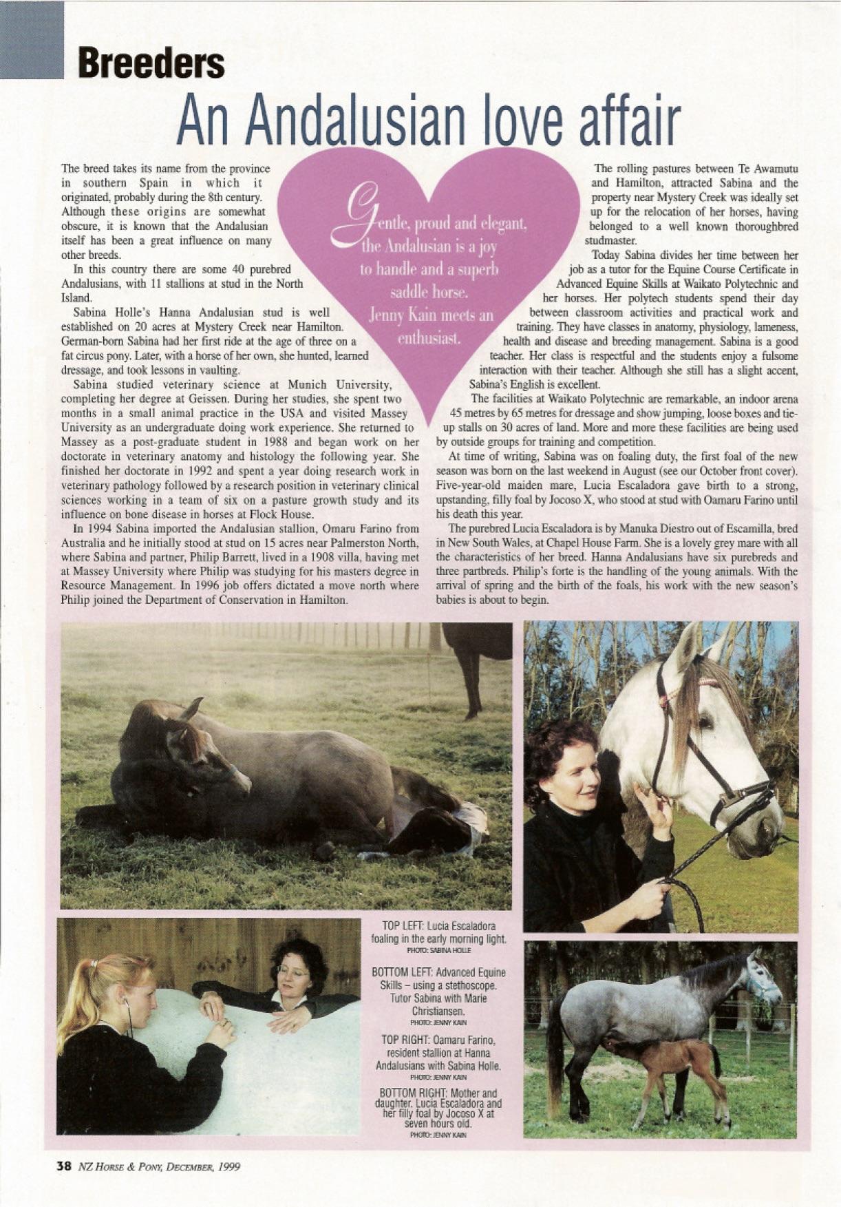 H&P magazine article