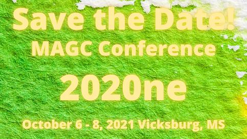 Conference 2020ne October 6 - 8 Vicksbur