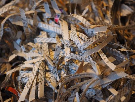 Shredding Is Good For The Environment