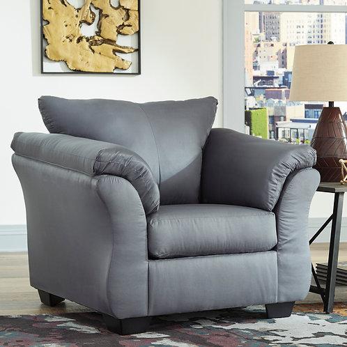 Darcy Angel Grey Contemporary Chair