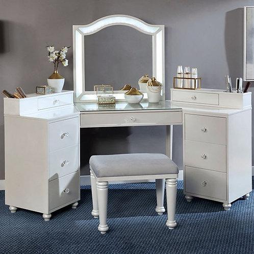 Tracie Imprad Luminous White Vanity Set