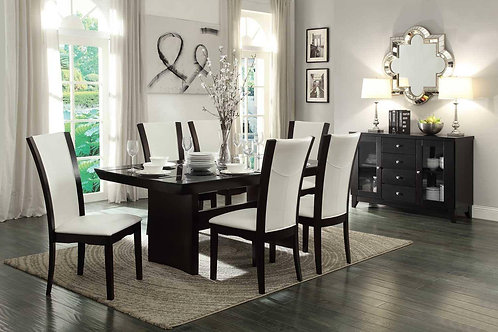 Daisy Henry Espresso Dining Table