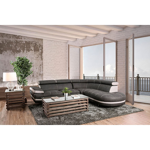 PICARD Imprad Graphite/Beige Sectional