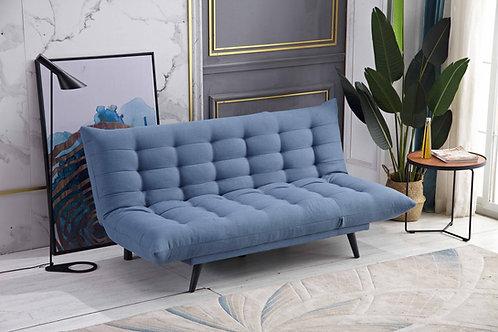 8359 Milt Blue Futon (Sofa Bed)