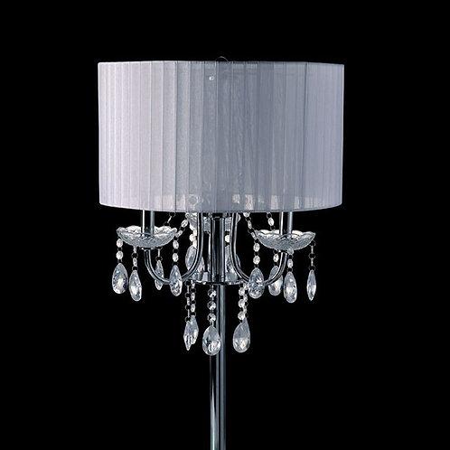 Jada Imprad White Metal Table Lamp