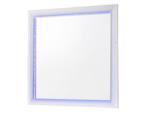 Whitaker Cali Rectangle Mirror With LED Lighting White