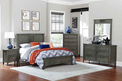 Garcia Henry Gray Bed