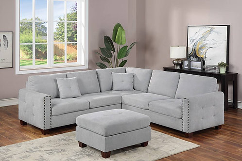 4-PC SECTIONAL SET TAUPE PORT 8821