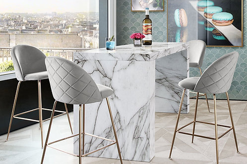Icon Dream Faux Marble Bar Table