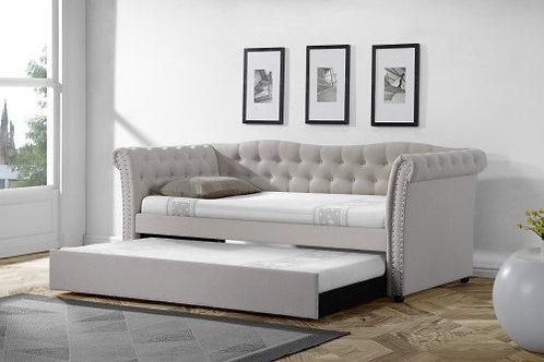 Arabela Emeral Grey Day Bed