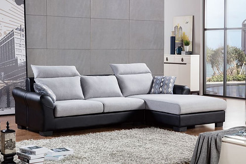 2363 AE Multi-color Fabric Sectional