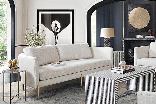 Lane Dream Light Cream Fabric Sofa