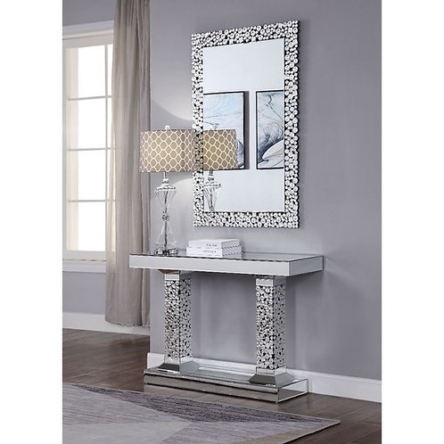 All Kachina Glam Mirrored Sofa Table