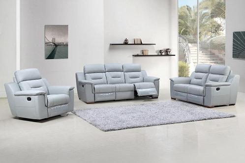 Geo 9408 Gray Reclining Sofa
