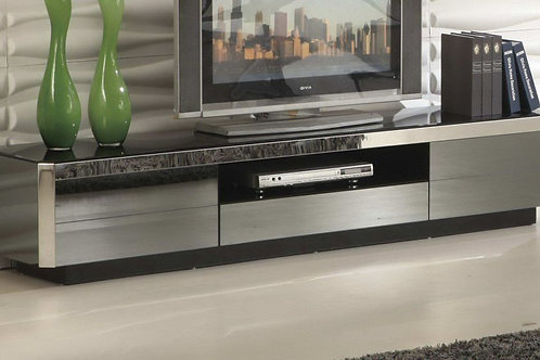 533 AE Glass Top TV Stand