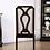 Thumbnail: GILLAM Imprad Transitional Espresso/Gray Fabric Side Chair