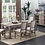 Thumbnail: Emeral Interlude II Rustic Dining Table