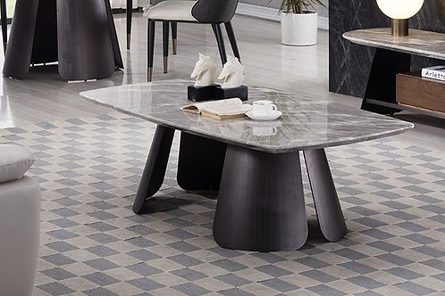 1832 AE Faux Marble Coffee Table