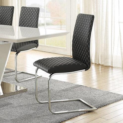 Yannis Henry Dark Grey Side Chair
