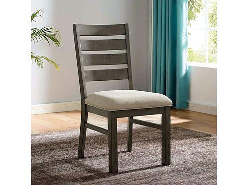 CLARY Imprad Beige Fabric Side Chair