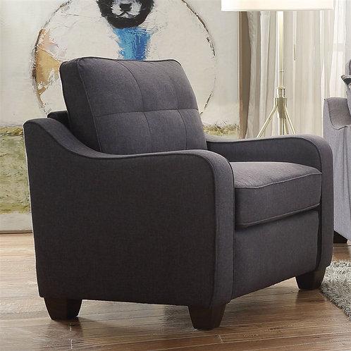 Cleavon II All Chair Gray Linen