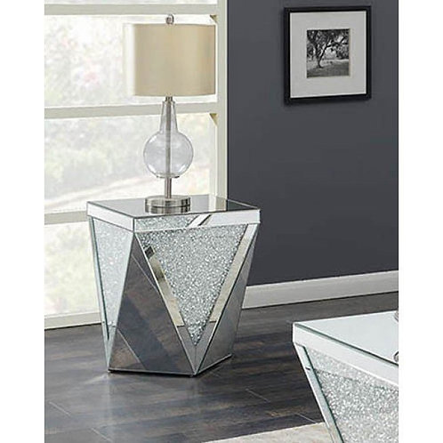 722507 Cali End Table Mirror Style