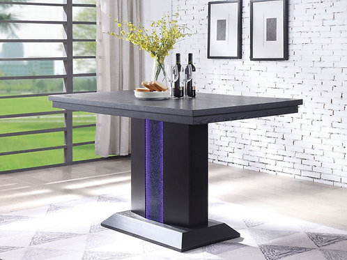 Bernice All Counter Height Table Black