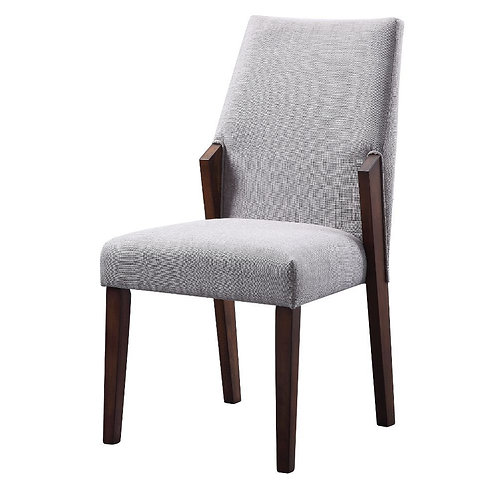 Bernice All Side Chair Fabric & Brown