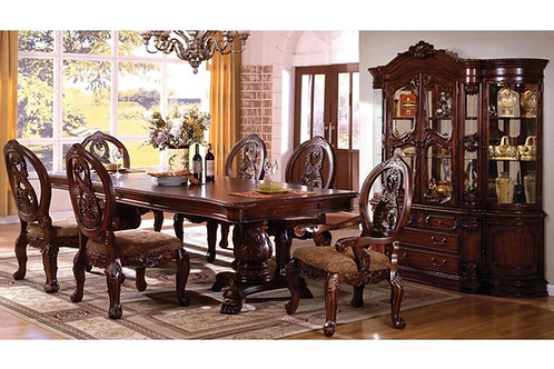 TUSCANY Imprad Antique Cherry Dining Table