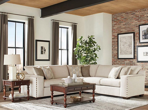 Aria Cali Oatmeal Sectional