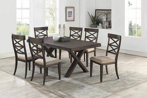 7811 Milt Antique Brown Dining Table