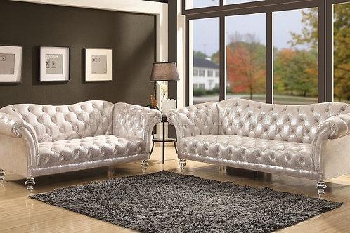 Dixie All Sofa Metallic Silver