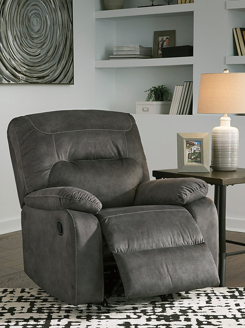 Bolzano Angel Gray Rocker Recliner
