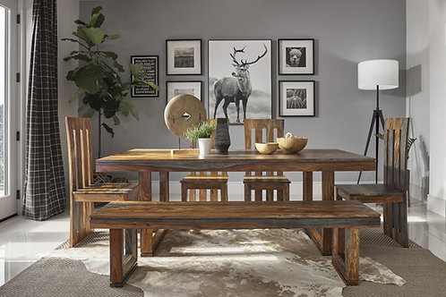 Paloma Cali Grey Sheesham Dining Table